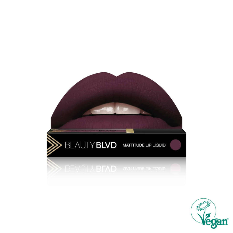 Beauty BLVD Mattitude Lip Liquid – Poison Junkie