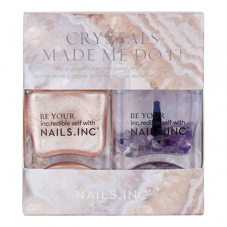 Nails Inc. Crystals Made Me Do It Crystal-infused Nail Polish Duo