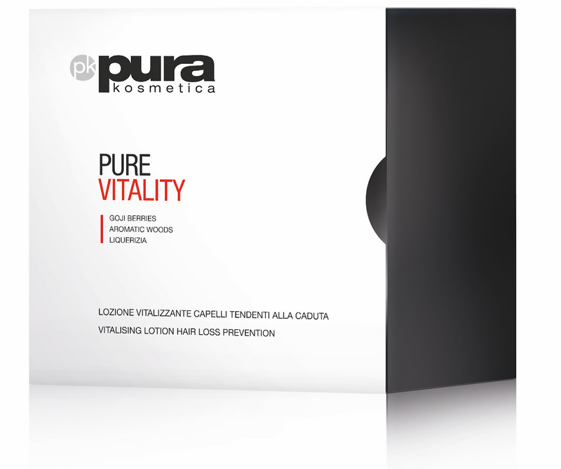 Pura Kosmetica Pure Vitality Hair Loss Lotion, 12 x 6ml