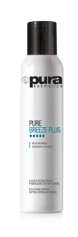 Pura Kosmetica Pure Breeze Plus Eco Hairspray - Extra Strong Hold, 300ml