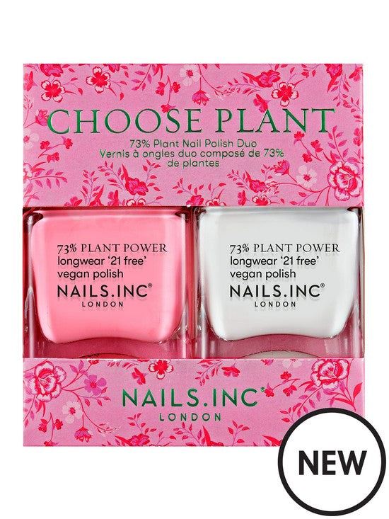 Nails Inc Choose Plant Duo
