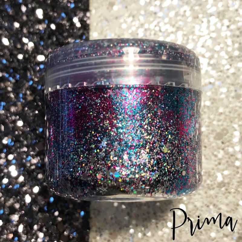 Prima Makeup Holographic Glitter Paste - Chameleon Collection - Raindrops on Roses