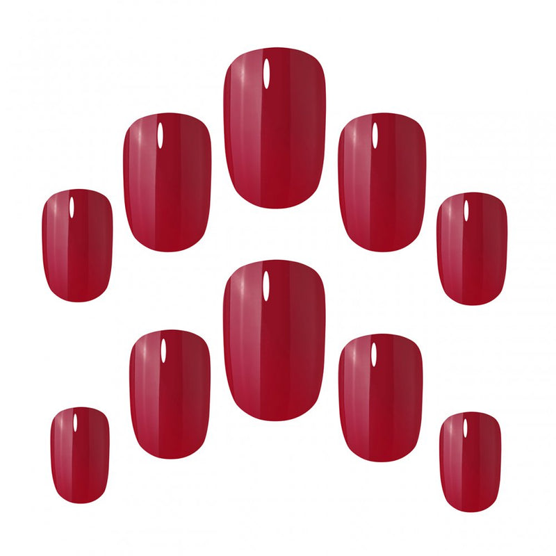 Elegant Touch Core Colour Rich Red Nails