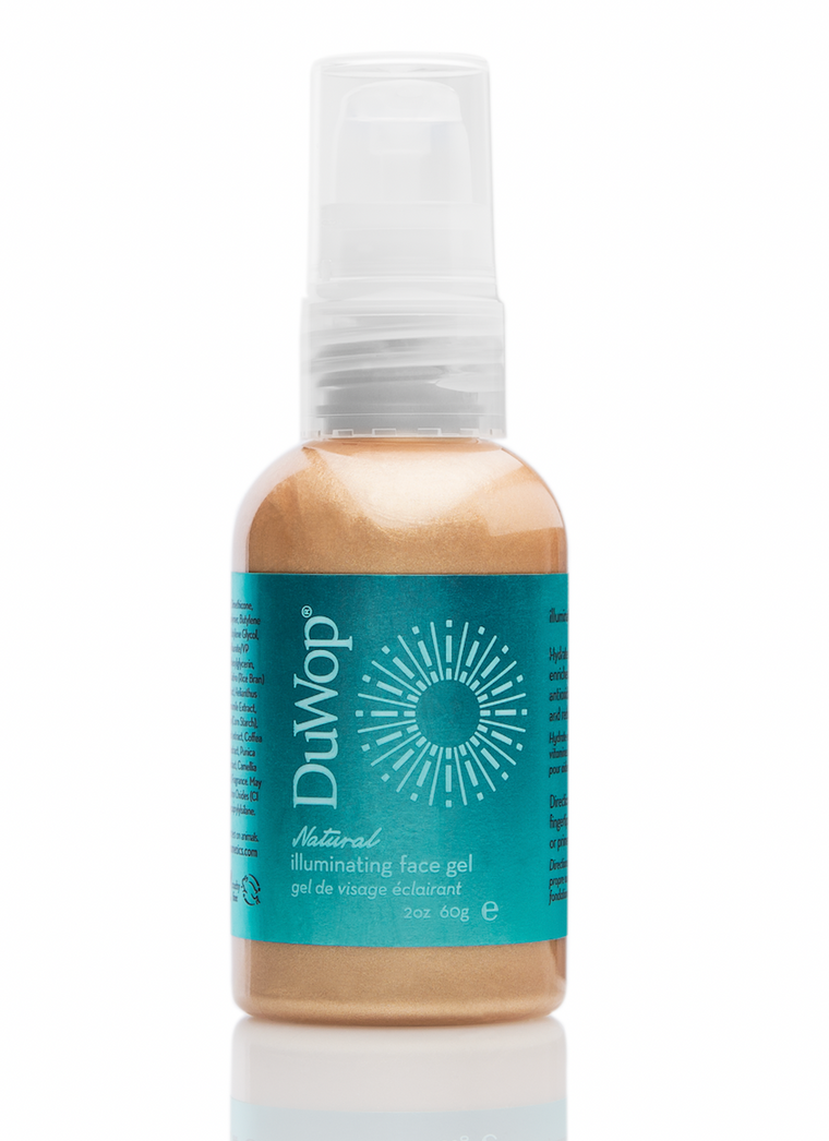 DuWop Natural Illuminating Face Gel - Sun Kissed - 60g