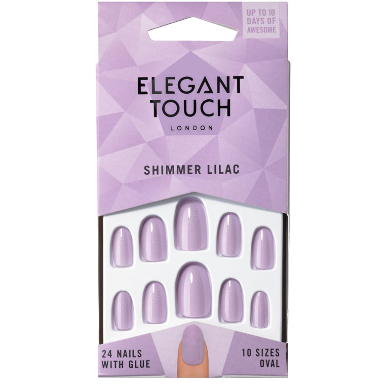 Elegant Touch Polished Shimmer Lilac