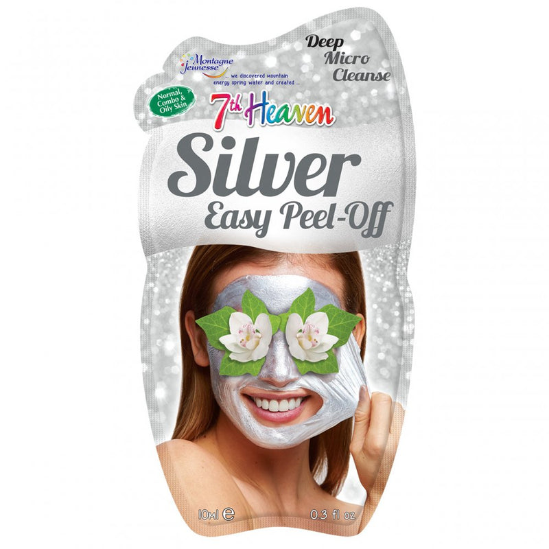 7th Heaven Silver Easy Peel Off Mask, 10ml
