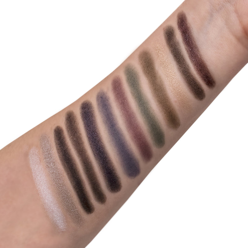 LoveShy Cosmetics Smokey 12 Shade Eyeshadow Palette