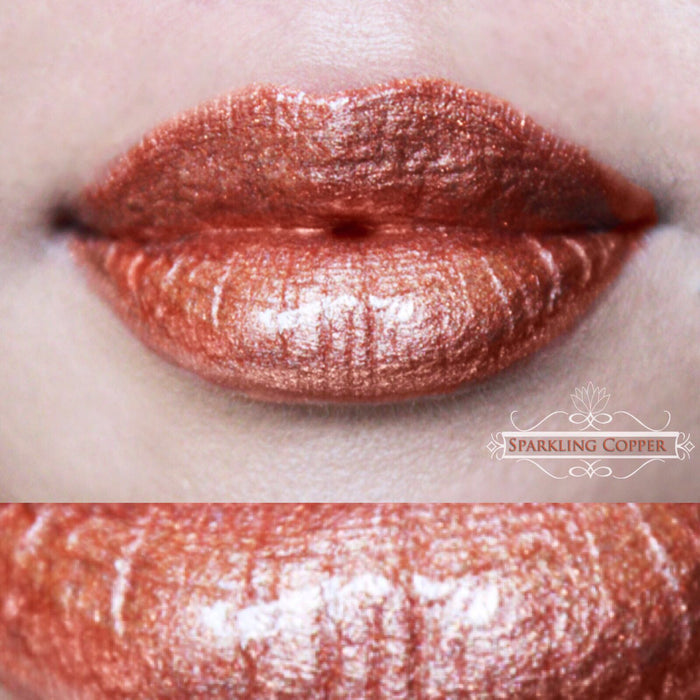 House of Beauty Lip Hybrid - Sparkling Copper