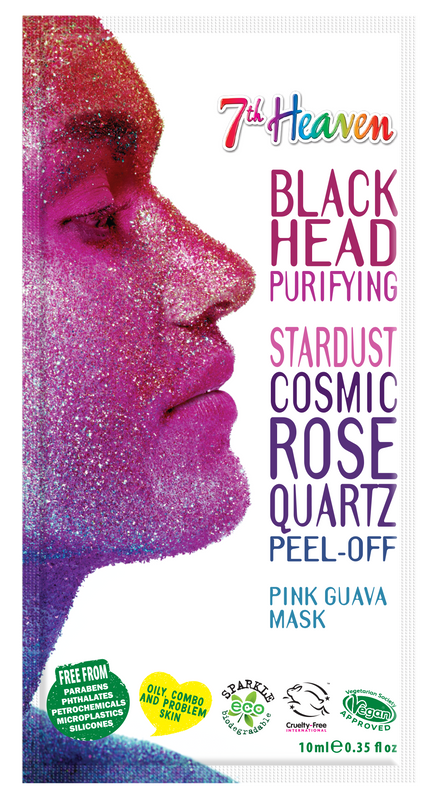 7th Heaven StarDust Cosmic Rose Quartz Peel Off