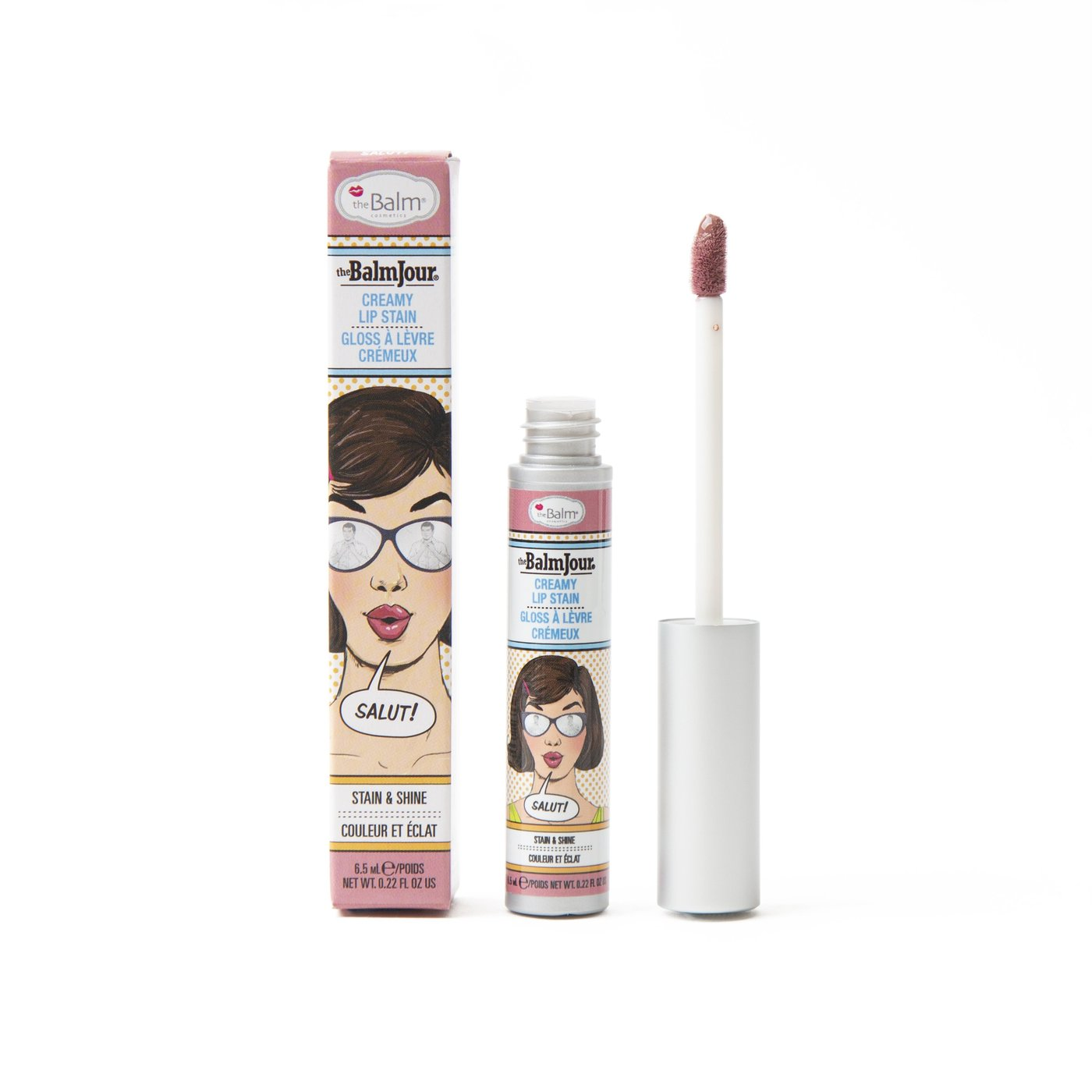 theBalm Cosmetics THEBALMJOUR® Lip Stain - Salut! - Nude with hint of Mauve