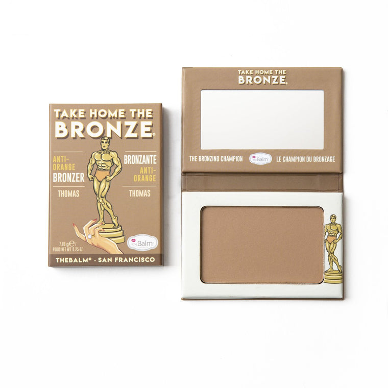 theBalm Cosmetics TAKE HOME THE BRONZE® Anti-Orange Bronzer Thomas