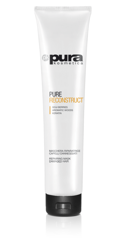 Pura Kosmetica Pure Reconstruct Repairing Mask for Damaged Hair, 200ml