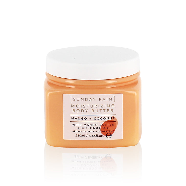 Sunday Rain Mango & Coconut Body Butter, 250g