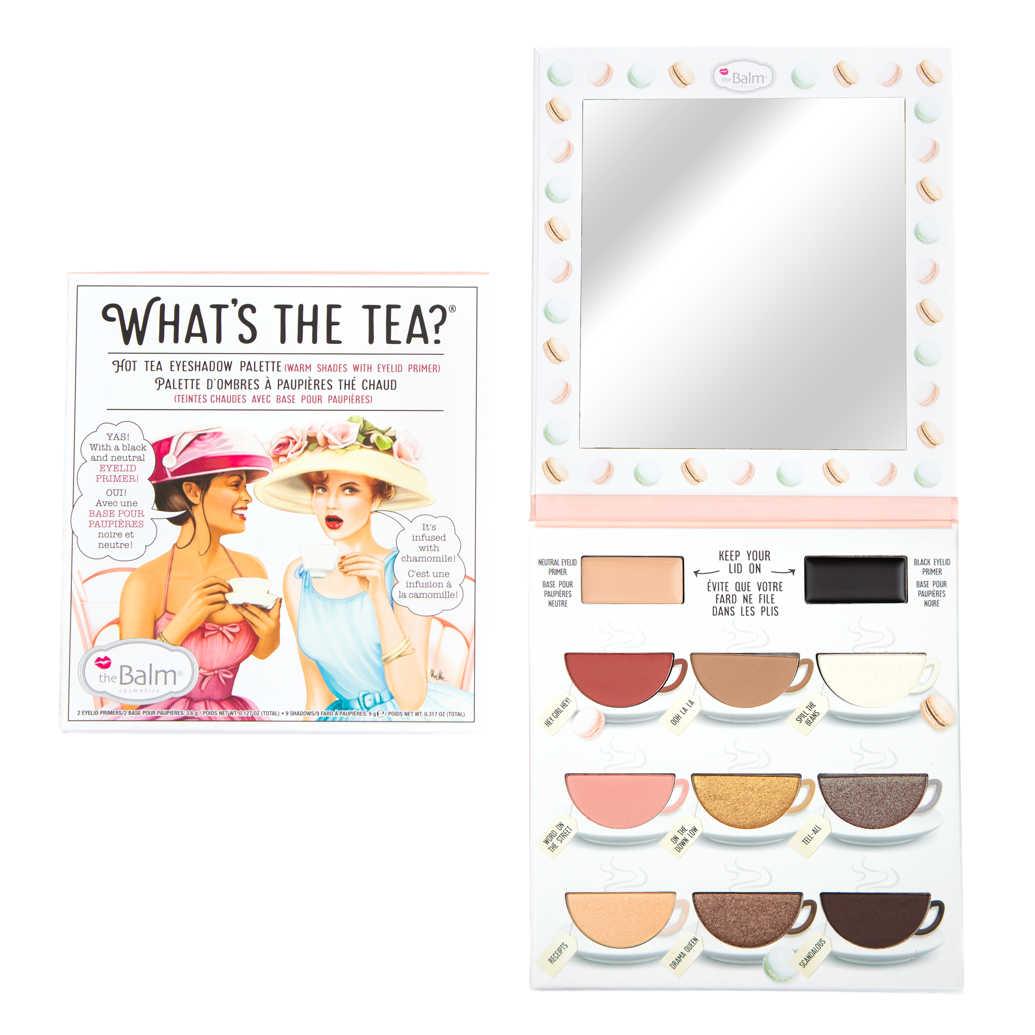 theBalm Cosmetics What's The Tea?® Hot Tea Eyeshadow Palette