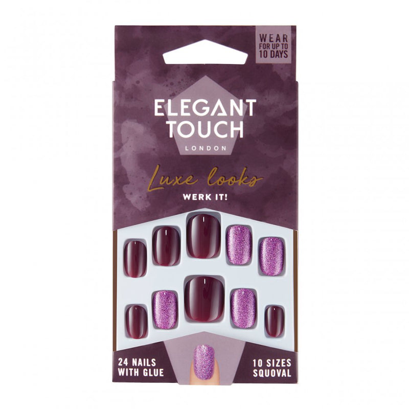Elegant Touch Luxe Looks Nails Werk It