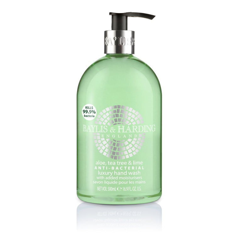 Baylis and Harding Aloe, Tea Tree & Lime Anti-Bacterial Luxury Hand Wash 500ml