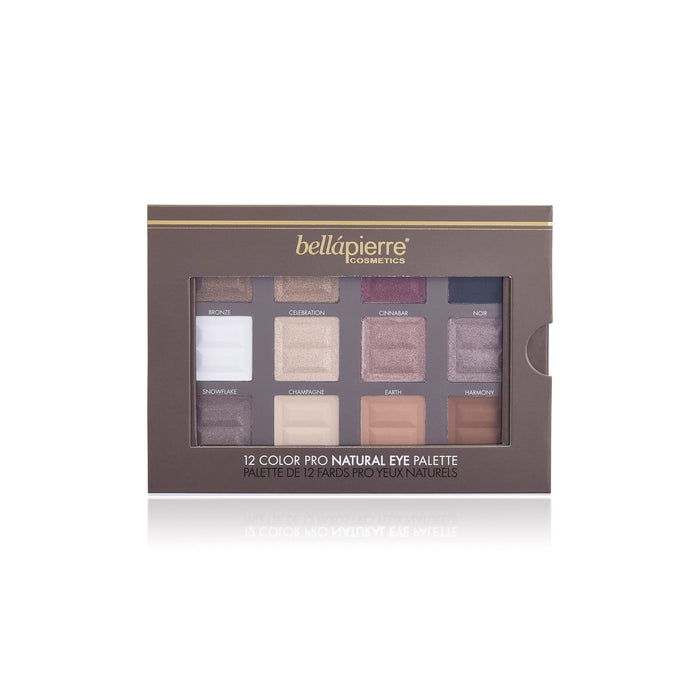 bellapierre Cosmetics 12 Color Pro Natural Eye Palette