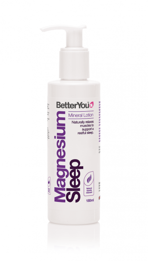 Better You Magnesium Sleep Lotion - 180ml - A nourishing blend of magnesium, lavender and chamomile
