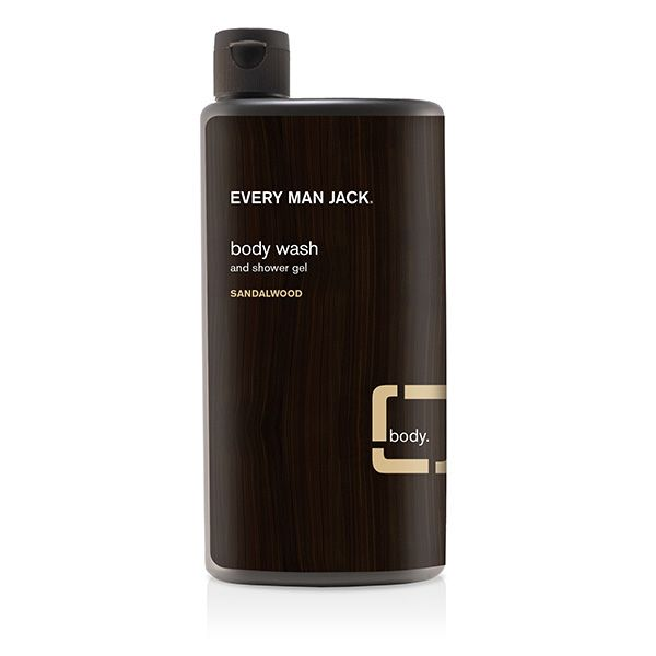 Every Man Jack Body Wash and Shower Gel Sandalwood 500ml