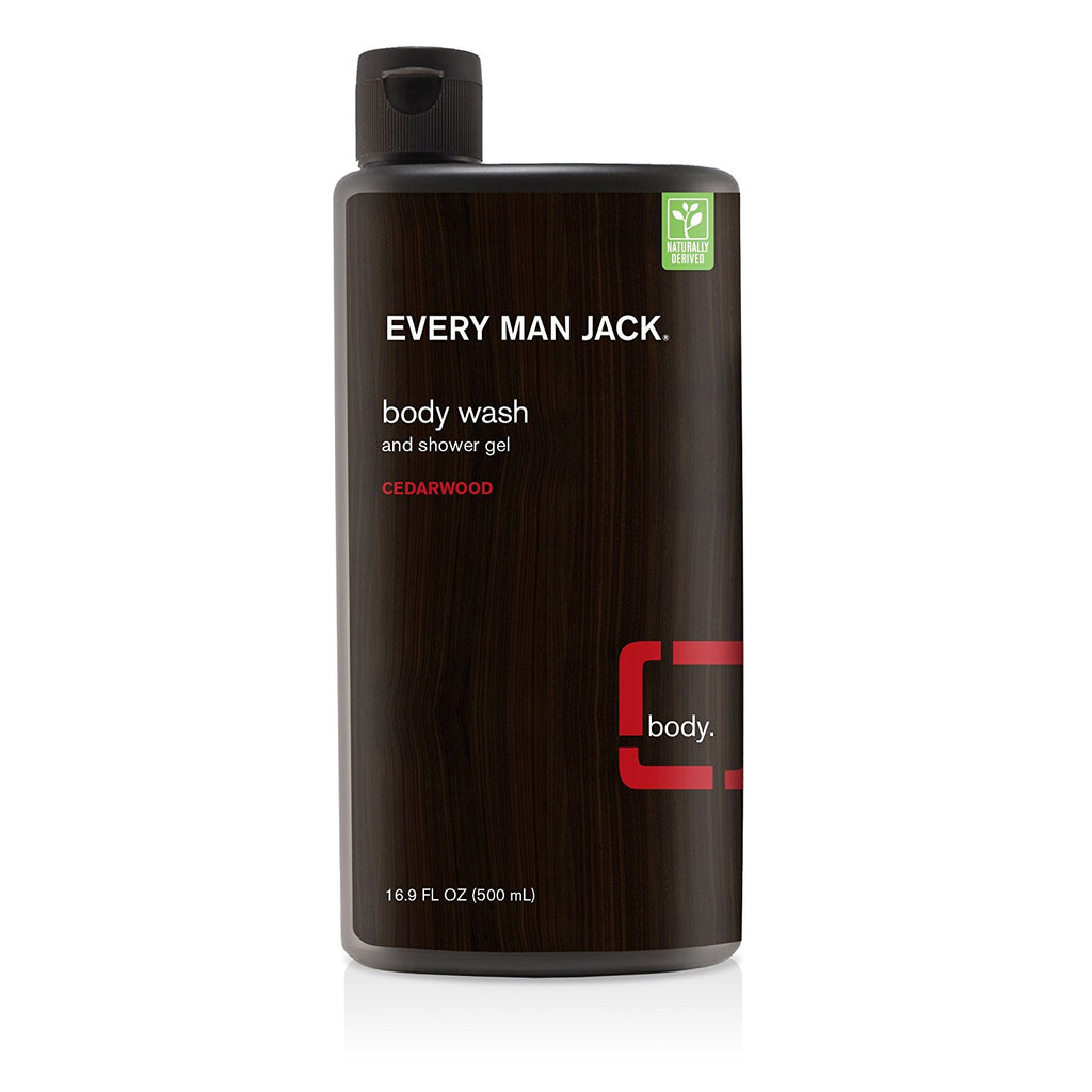 Every Man Jack Body Wash and Shower Gel - Cedarwood