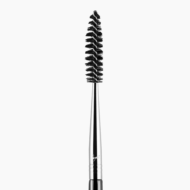 Sigma Beauty E80 Brow and Lash Brush - Black and Chrome