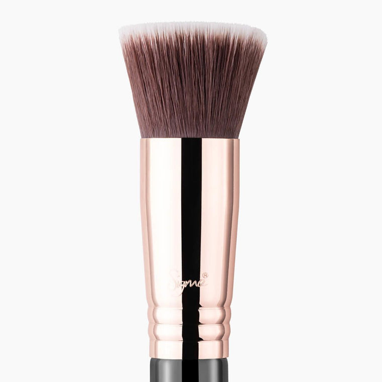Sigma Beauty F80 Flat Kabuki Brush - Copper