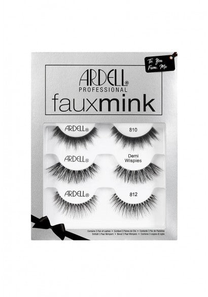 Ardell Faux Mink 3 Pack Christmas Kit