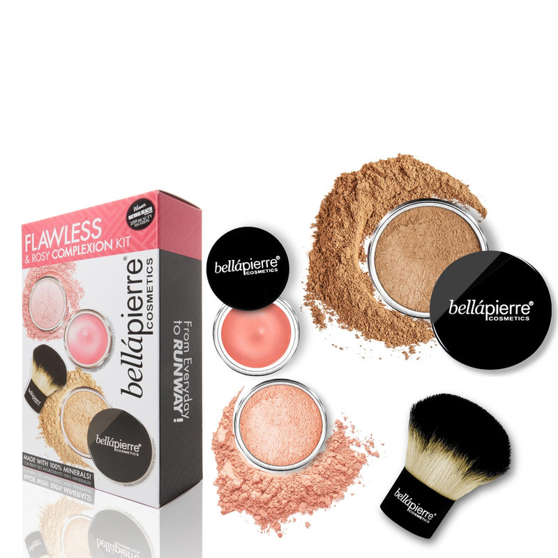 bellapierre Cosmetics Flawless & Rosy Complexion Kit