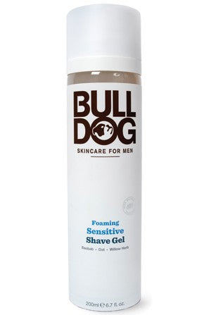 Bulldog Foaming Sensitive Shave Gel - 200ml