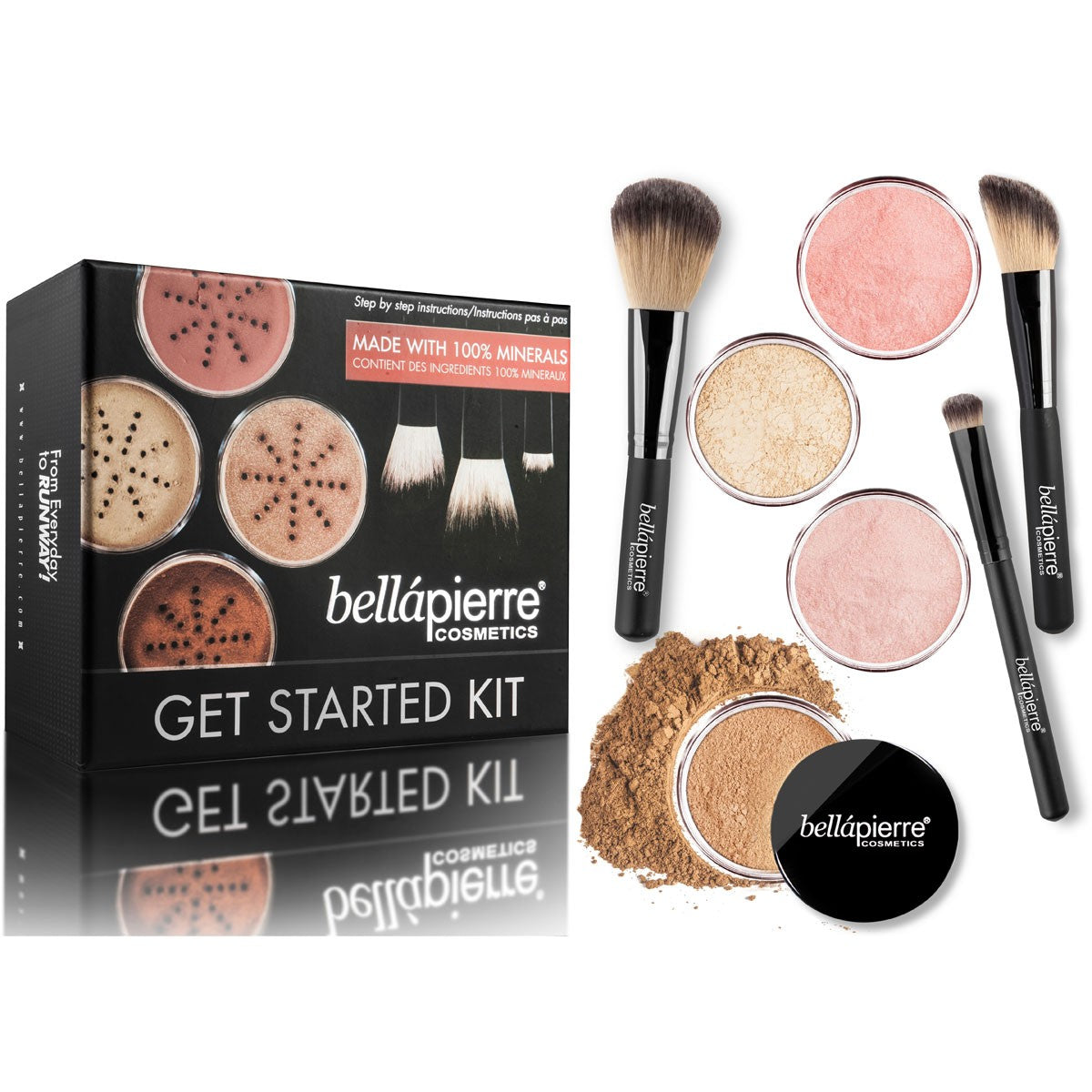 bellapierre Cosmetics Get Started Kit