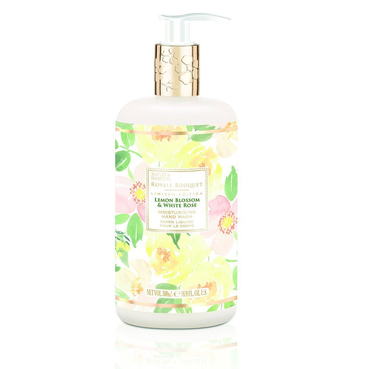 Baylis and Harding Royal Bouquet Lemon Blossom & White Rose Hand Wash