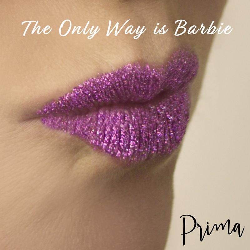 Prima Fine Glitter Single Stacker - The Only Way is Barbie
