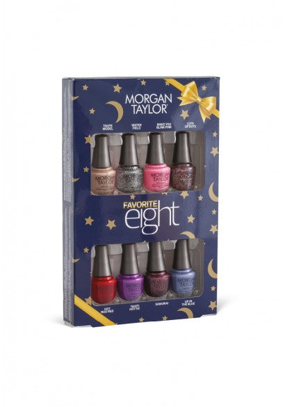 Morgan Taylor Holiday 2019 Favorite Eight Nail Polish