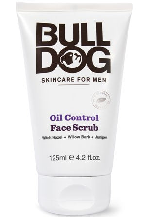 Bulldog Skincare for Men Oil Control Face Scrub - 125ml