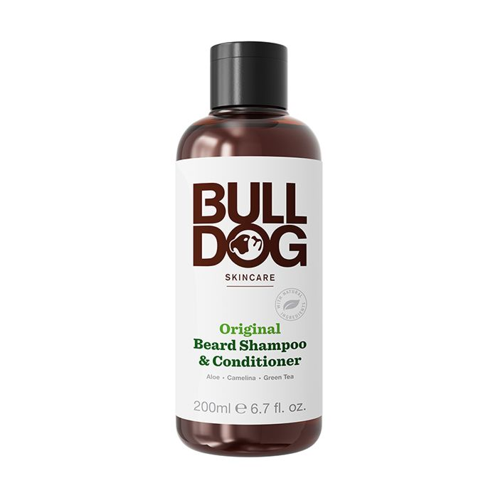 Bulldog Skincare for Men Original Beard Shampoo and Conditioner - 200ml