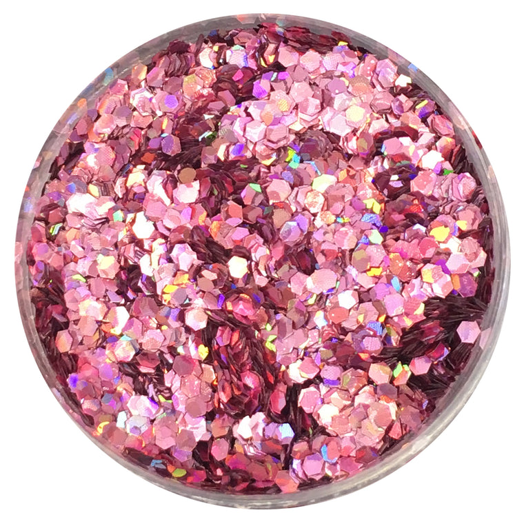 Prima Makeup 30mm Loose Glitter for Face and Body - Pink Lady
