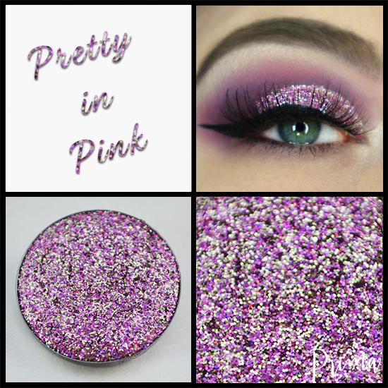 Prima Makeup Chameleon Pressed Glitter - Pretty in Pink