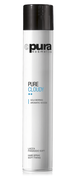 Pura Kosmetica Pure Cloudy Hairspray Soft Hold, 500ml