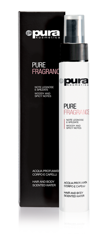 Pura Kosmetica Pure Fragrance Hair and Body Scented Water, 100ml