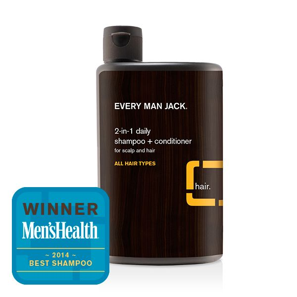 Every Man Jack 2-in-1 Citrus Daily Shampoo and Conditioner - All Hair Types - 400ml