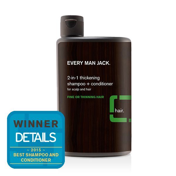 Every Man Jack 2-in-1 Tea Tree Thickening Shampoo and Conditioner - 400ml