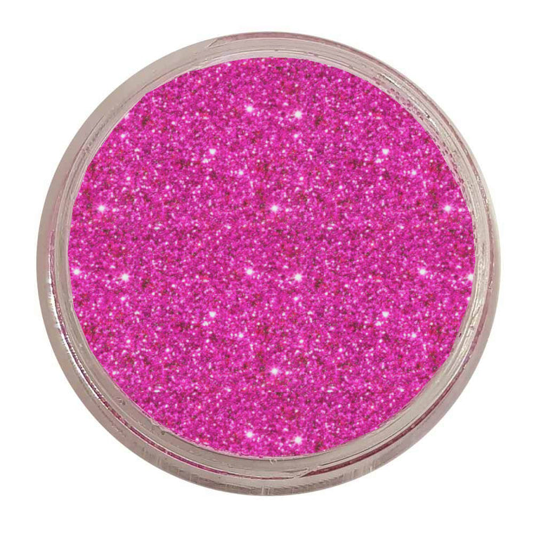 Prima Makeup Fine Glitter Single Stacker - Hot Shot Pink