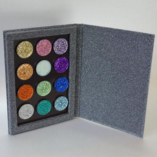 Prima Makeup Pressed Glitter Eyeshadow Lips Set - Sparkly and I Know It Collection