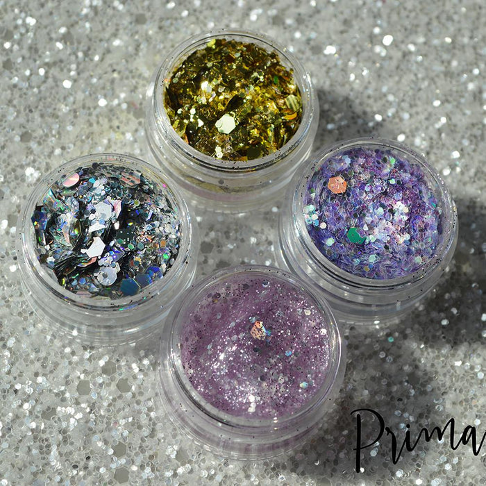 Prima Makeup Unicorn Poop Chunky Loose Glitter Stacker