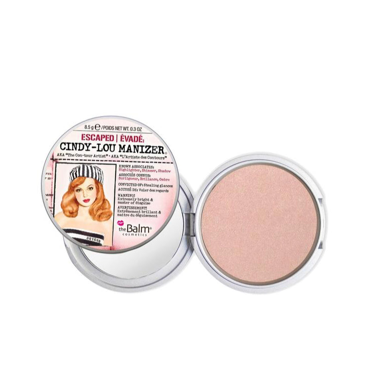 theBalm Cindy Lou Manizer - Shimmering Rosé Highlighter
