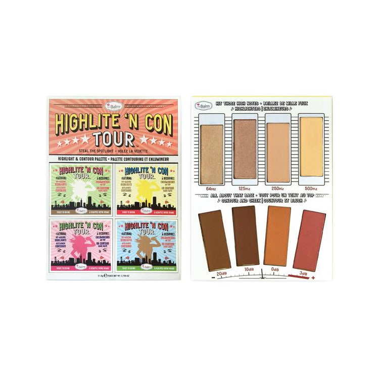 theBalm Highlite 'N Con Tour™ Highlight and Contour Palette
