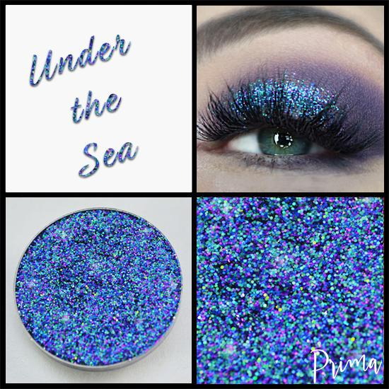 Prima Makeup Chameleon Pressed Glitter - Under the Sea