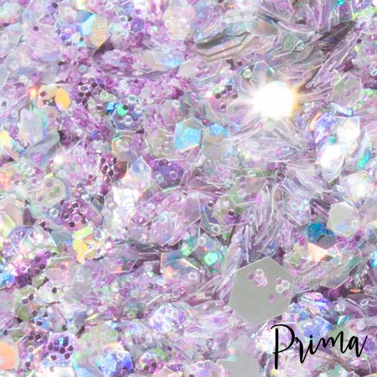 Prima Makeup 30mm Loose Glitter for Face and Body - Serenity Light Pink