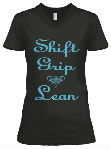 Shift, Grip, Lean V-Neck