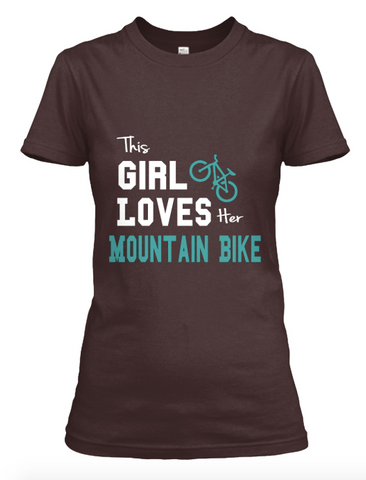 This girl Loves MTB